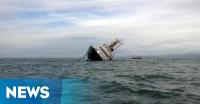 Kapal Rombongan Pengantin Tenggelam di Perairan Muara Selengot