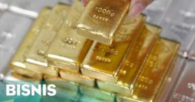 \Harga Emas Turun Tertekan Penguatan Dolar AS\