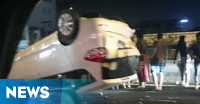 Kecelakaan Beruntun di Tol Dalam Kota, Lalin Menuju Pluit Terhambat