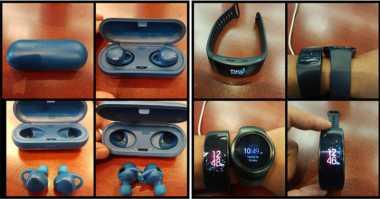 Samsung Tak Sengaja Pamerkan Fitness Band Anyar