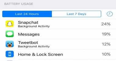 Tips Bikin Snapchat Setop Makan Daya Baterai