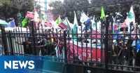 Tuntut Ahok Mundur, Ratusan Korban Penggusuran Geruduk DPRD