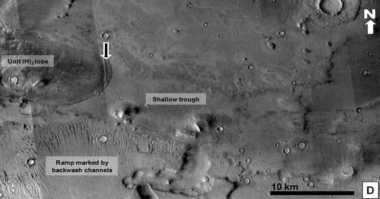 Mega Tsunami Pernah Terjadi di Mars