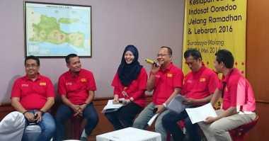 Indosat Ooredoo Tingkatkan Kapasitas Data 6.389 TB per Hari