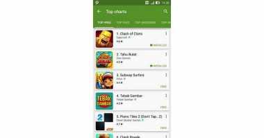 Game Tahu Bulat Duduk di Posisi Kedua Google Play