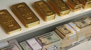 \Harga Emas Turun Tajam Tertekan Penguatan Ekuitas AS\