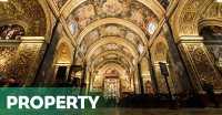 TERPOPULER : Gereja Kuno di Malta Berlantai 400 Batu Nisan