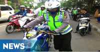 Razia Gabungan, Cek Kelengkapan Surat Kendaraan hingga Tes Urine
