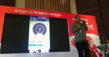 Smartfren Uji Kualitas Jaringan 4G VoLTE di Yogyakarta