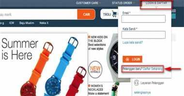 Persaingan E-Commerce, Lazada Permak Tampilan Website