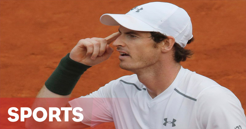 Andy Murray Kehilangan Arah di French Open 2016