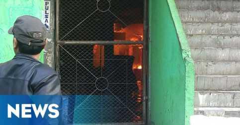 Pasar Besar Malang Terbakar, Api Terus Membesar