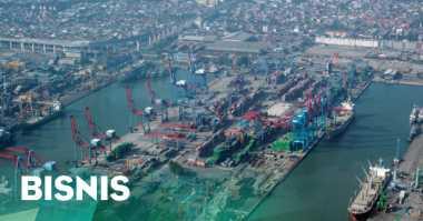 \TERPOPULER: Pelabuhan New Priok Uji Coba Pelayaran Internasional   \