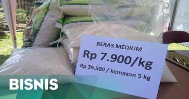 \13.775 Ton Beras Impor Myanmar Akhirnya Lepas dari Karantina\