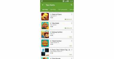 Clash of Clans Lengserkan Game Tahu Bulat di Google Play