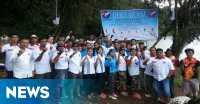 Pemuda Perindo Jambi Deklarasi di Danau Gunung Tujuh