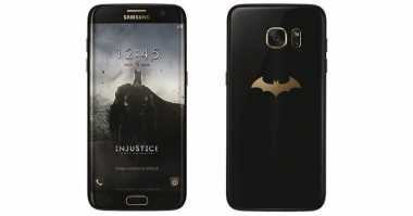 Samsung Galaxy S7 Edge Edisi Batman Siap Rilis Juni
