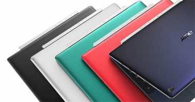 Acer Pamer Dua Notebook Terbaru 2-in-1