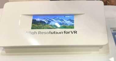 Samsung Kembangkan Layar Smartphone untuk VR
