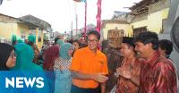 Sandiaga Uno Silaturahmi dengan Paguyuban Pedagang Pasar Jakarta Barat