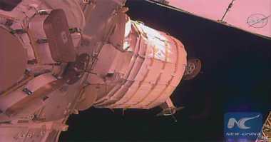 """NASA Berhasil Luncurkan """"Rumah Tiup"""" di Stasiun Luar Angkasa"""