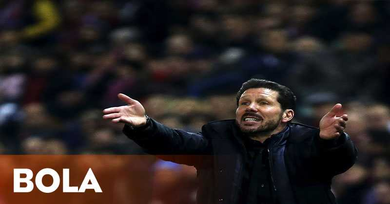 Diego Simeone Belum Putuskan Masa Depannya di Atletico Madrid