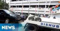 Mobil Dikempiskan, Polisi Berpangkat Bripka Tegur Petugas Dishub