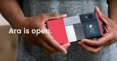 Pencipta Ponsel Modular Sayangkan Model Project Ara Google