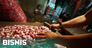 \Harga Bawang Merah di Pasar Induk Kramat Jati Rp31.000 per Kg\