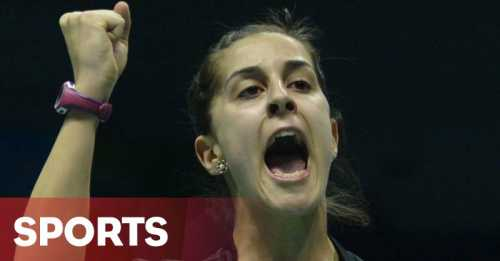 Hot Sport: Carolina Marin Berjaya di Indonesia Open 2016