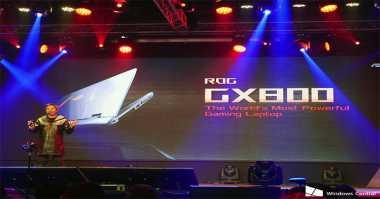 Asus ROG GX800, Upgrade Gaming Laptop GX700