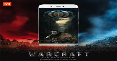 Xiaomi Rilis Tema Warcraft untuk Smartphone Mi