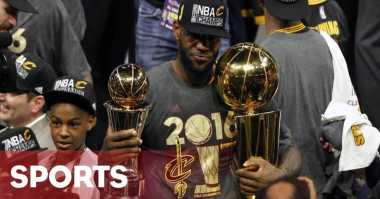 Hot Sport: King James Sindir Kritikusnya Melalui Instagram
