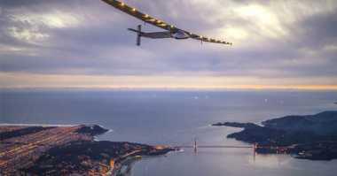 Pesawat Eksperimental Solar Impulse 2 Berhasil Lalui Atlantik