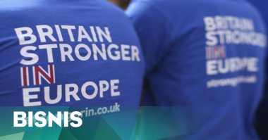 \HOT BISNIS: Brexit Rontokkan Rupiah hingga Pasar Modal Global\