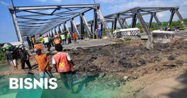 \H-6 Lebaran, Jembatan Sipait Pekalongan Siap untuk Pemudik   \