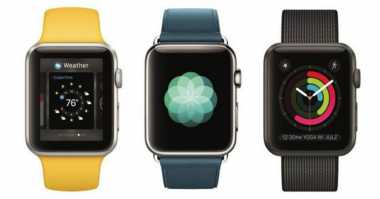 2017, Apple Boyong Smartwatch dengan LED Micro OLED