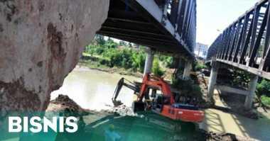 \Kementerian PUPR Klaim Jembatan Baru Sipait Kuat dan Berumur 100 Tahun\