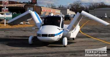 FAA Izinkan Mobil Terrafugia Transition Terbang di Angkasa