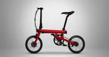 Sepeda Listrik Rakitan Xiaomi Terkoneksi Smartphone