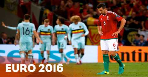 Gulung Hungaria 4-0, Belgia Tantang Wales di Perempatfinal Piala Eropa 2016