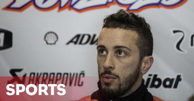 Dovizioso: Saya dan Rossi Terlalu Memaksakan Diri