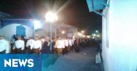 Keraton Solo Arak 1.000 Tumpeng & Lampu Ting di Malam Selikuran