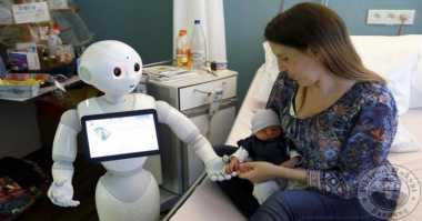 Pepper dan Zora, Robot yang Mengurus Pasien Rumah Sakit
