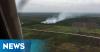 Kebakaran Lahan di Rohil Kian Membara, 28 Kali Bom Air Dijatuhkan