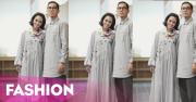 FOTO: Andien dan Suami Tampil Modis dengan Baju Lebaran Seragam