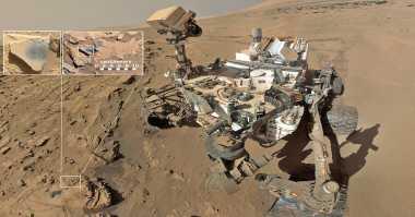 Curiosity Temukan Bukti Mars Sempat Kaya Oksigen