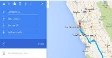 Google Maps Mobile Dukung Multiple Destinations