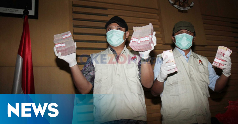 KPK Amankan Uang Ratusan Juta Rupiah dalam OTT Santoso