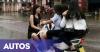 Bukan Sirkus, 5 Remaja Cantik Naiki 1 Skutik di Jalan Raya